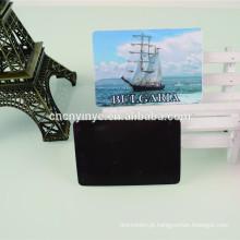 Imã de geladeira personalizado cartão de negócios de moda
