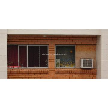 Fenêtres coulissantes en aluminium à grille diamant antidéflagrante