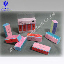 Bloc de ponçage à tampon à ongles à 4 côtés