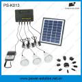 4ВТ 11В 3шт панель солнечных батарей 1W светодиодный солнечный свет лампы Солнечной Комплект для домашнего Солнечной системы