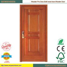 Puerta de madera fábrica oficina puerta de madera costosa puerta de madera