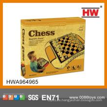 2014 caliente venta de plástico magnético internacional piezas de ajedrez