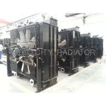 Perkins generator radiator 4008-tag2a