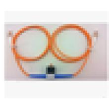 Multimodo 62,5 / 125 50/125 VOA Fibra óptica LC / UPC atenuador variável, 30db Atenuador em linha
