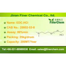 Chlorhydrate de 1- (3-diméthylaminopropyl) -3-éthylcarbodiimide; N ° CAS 25952-53-8; EDC.HCl; EDAC.HCl
