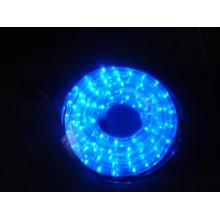 Luz da corda do diodo emissor de luz (2 fios azul)