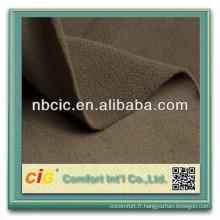 Tissus polaires de polyester de haute qualité de DTY 100