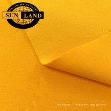 tricot trame polyester spandex jersey antistatique pour vêtements de travail