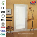 30 in. x 80 in. Classic Clear Glass 1-Lite Composite Prehung Interior French Door
