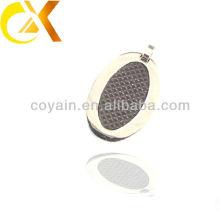 Pendentif personnalisé en coton bijoux alibaba en acier inoxydable