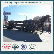 Wrold Brand Low Bed Cargo Truck Semi Trailer