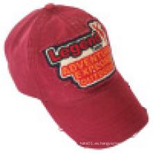 Gorra de béisbol con aplique de fieltro (6PWS1205B)