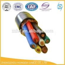 0.6 / 1KV multi-core blindage pvc fil électrique câble tressé câbles électrique fil