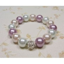 Fast Delivery for glass bead bracelet Girls Pearl Jewelry Bracelet Design supply to Suriname Factory