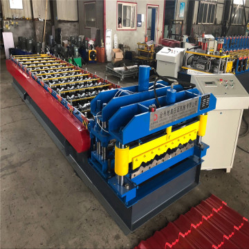Lembut Bumbung Glazed Rolling Forming Machine