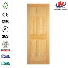 Fir 6-Panel Interior Door
