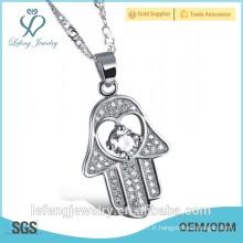 Meilleure vente de bijoux éléctriques, brillant, brillant, plaqué or et collier de diamants