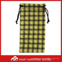 100 polyester microfiber pouch,eyeglass bag