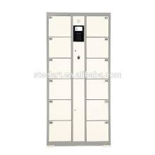 english and spanish language Fingerprint operated locker