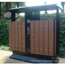 2014 Alto Quanlity barato al aire libre ambiente WPC basura