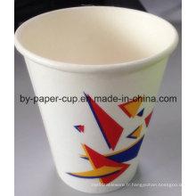Coupe en papier pour boissons chaudes en haute qualité