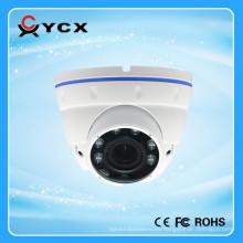 Cámara varifocal del CCTV de la bóveda del IR de la prueba del vándalo de la cámara 1080P IP65 del metal del pixel de 2.0M Cámara 2015 del CCTV de la bóveda de la bóveda de la prueba del vándalo