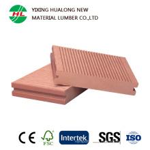 Holz-Plastikzusammengesetztes festes Decking für im Freien (HLM38)