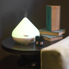300ml white Ultrasonic aroma essential oil diffuser
