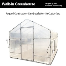 Best Price for for Plastic Film Greenhouse Agricultural Plastic Garden Walk-in Greenhouse export to Switzerland Wholesale