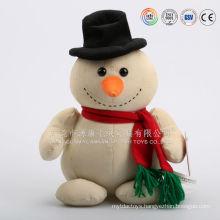 Dongguan ICTI Audit factory making snowman mascot costume