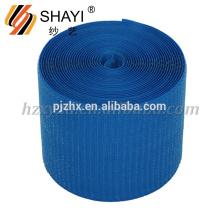 Gancho y lazo azules del nilón para los accesorios del zapato