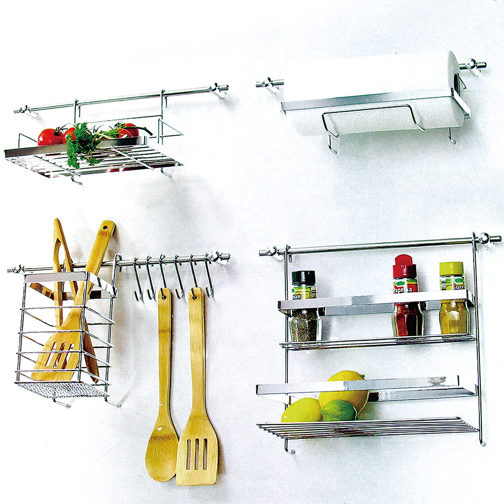 kitchen storage racks metal