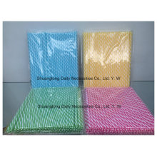 Party Decoration Plastic Tube Striped Hard Straight Straw