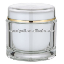 200ml Round Acrylic Cosmetic Packaging Jar