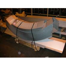 Machine de construction de feuilles d'armoires à vis à vis Bh