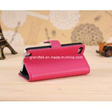 Buch-Stil Leder Brieftasche Handytasche für iPhone 5 5 s