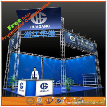 sistema de truss de aluminio, truss de aluminio colgante, truss de exhibición de Shanghai