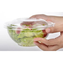 High Quality Disposable Clear Salad Bowl with Lid