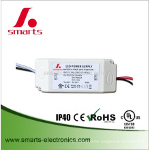 UL 35-48v 24w constant current 500ma constant current led bulb driver