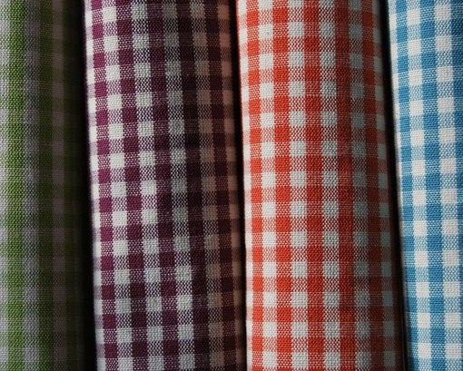 Cvc 사 격자 무늬 학교 유니폼 호주 직물을 염색 했다