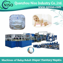 Stable High Speed Baby Training Pants Machine Withce (YNK500-SV)