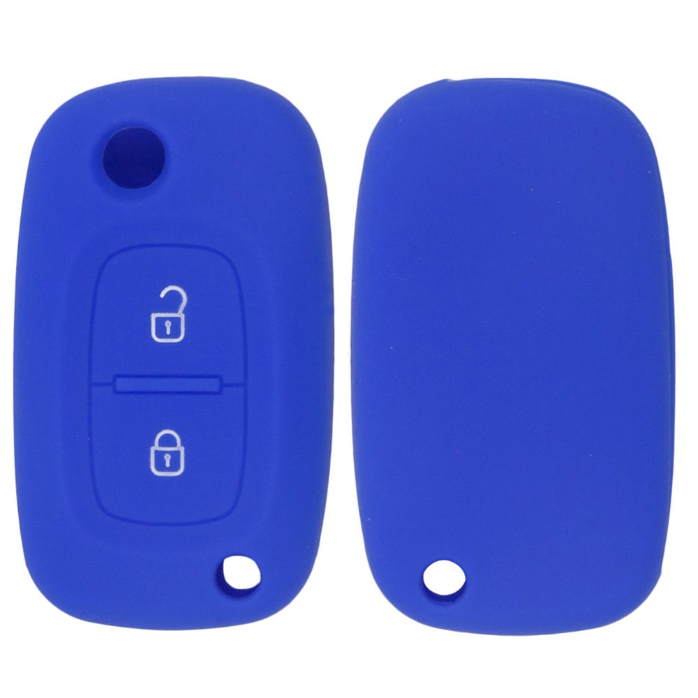 Debossed Silicon Key Cover For Renault