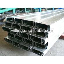 galvanized C shape steel channel