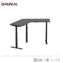 tabela popular do escritório de três motores mesa de escritório elétrica ajustável da altura de 120 graus