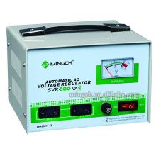 Tipo de relé SVR-0.5k monofásico de encargo Tipo Regulador / estabilizador de voltaje AC completamente automático