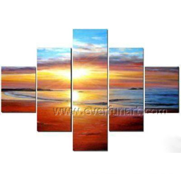 Modern Seascape Painting on Canvas for Wall Decor (SE-188)