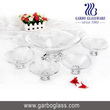 Set de vaso de vidrio 7PCS, conjunto de vaso de vidrio, cristalería Set Tz7-GB16029