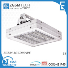 90W 100W LED éclairage industriel mobilier avec Bridgelux jetons