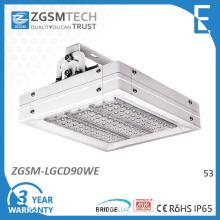 90W 100W LED Industrial dispositivo elétrico de iluminação com Chips Bridgelux