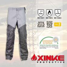 pantalones de prevención de destello del arco de nylon del algodón de la alta calidad para el trabajador